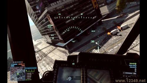 战地2直升飞机怎么开