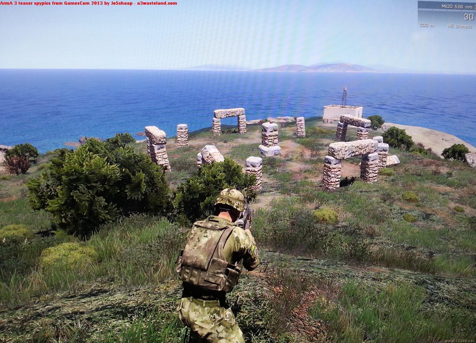 武装突袭3 地图巨大 首发MAP270平方公里