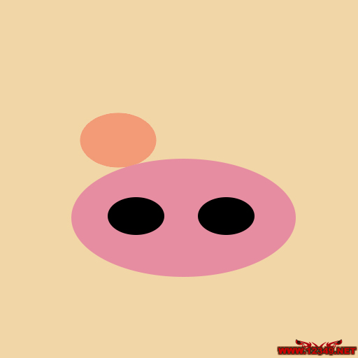 带字可爱小猪头像