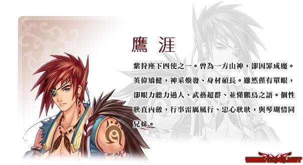 《幻想三国志4》主角介绍