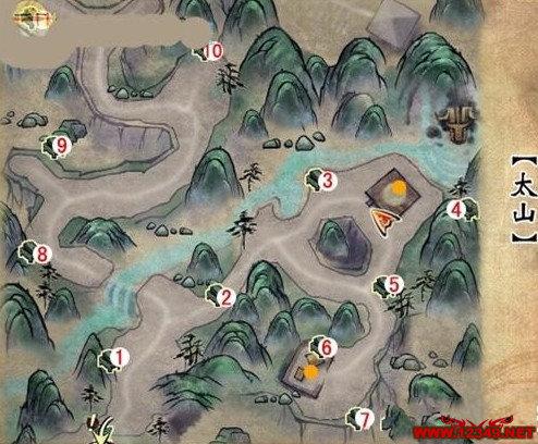 ►轩辕剑6大地图全隐藏金蛋位置