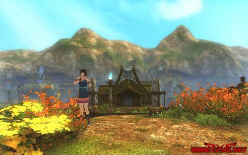《古剑奇谭》乌蒙灵谷——手工卡位纯风景截图