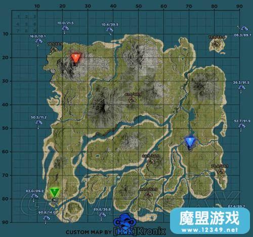 《方舟生存进化》地图上分布有六大洞穴,其中个个危机四伏,那么