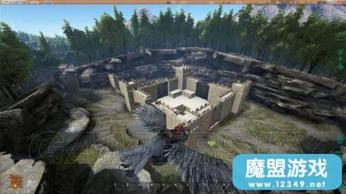 《方舟:生存进化》城堡基地一览