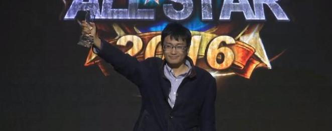 JasonZhou夺得炉石Allstar全明星赛冠军