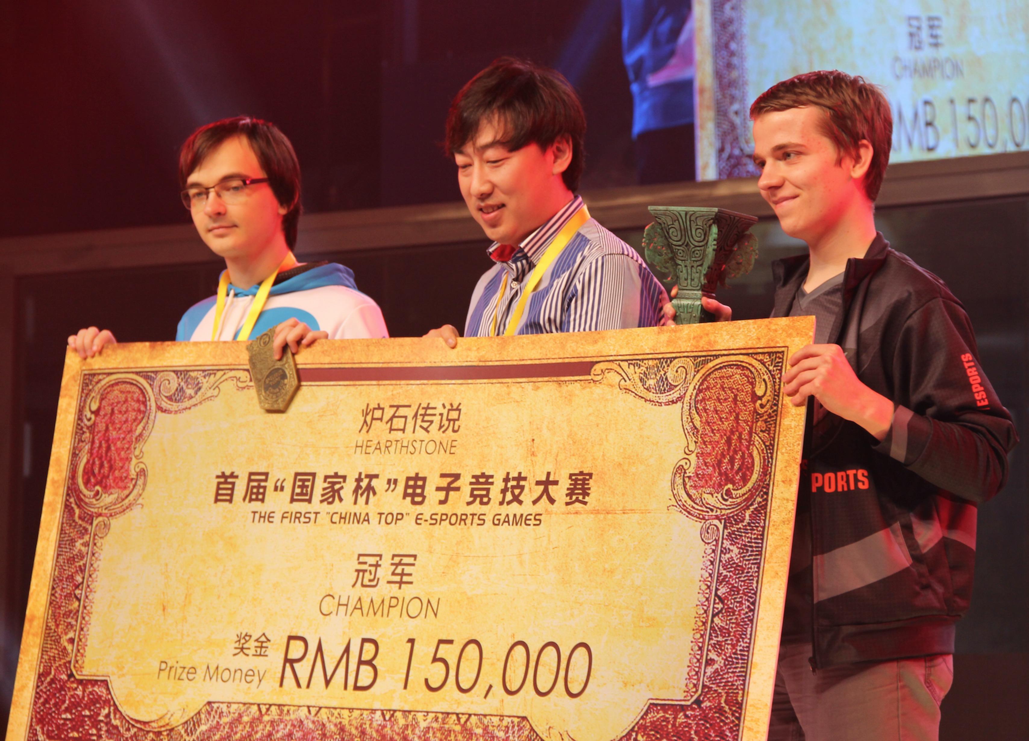 国家杯冠军太子专访 称中国天梯很难赢