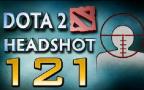 DOTA2 爆头集锦#121:自信盲大 溅射砍隐身
