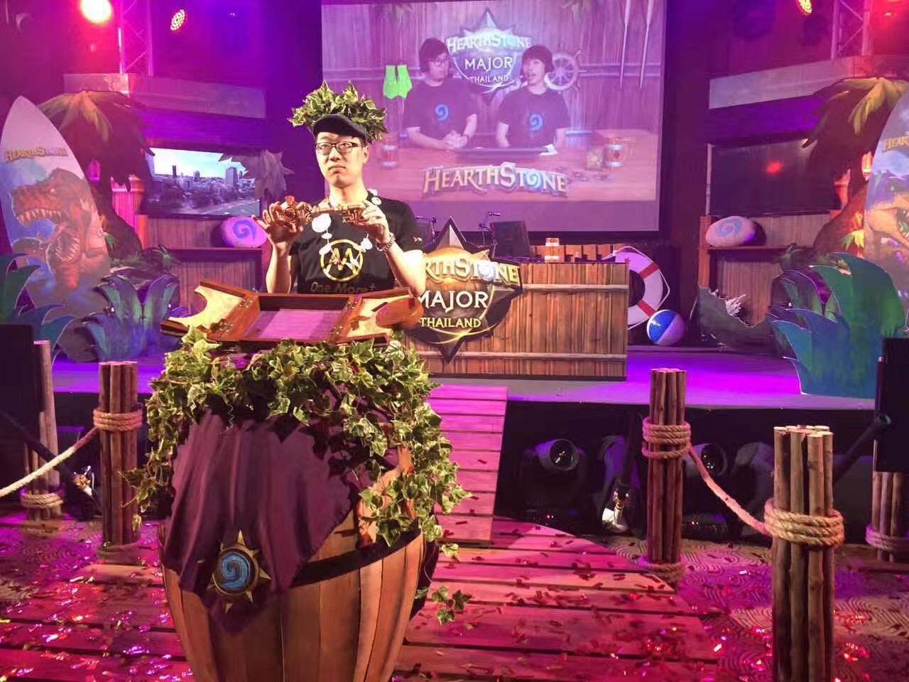 泰国大奖赛落下帷幕 OMXhope获冠军