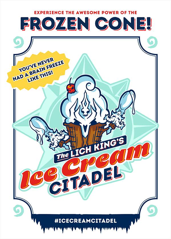 新的尬片来啦 巫妖王竟做冰激凌店老板