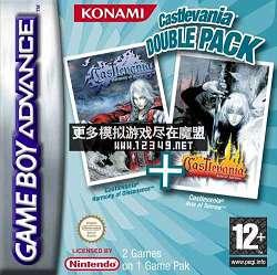 游��2合1-�耗С呛霞� (2 Games in 1-Castlevania DoublePack)