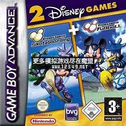 游��2合1-迪斯尼全明星�\�酉盗凶闱�.滑板(2 Games in 1-Disney Sportpack)