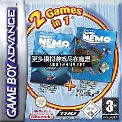 游戏2合1-海底总动员-寻找伦莫和冒险再续 (2 Games in 1-Findet Nemo+Findet Nemo-Das Abenteuer geht weiter)