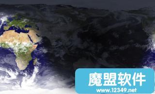 在外太空实时卫星鸟瞰地球桌面背景看看中国晚上哪里灯火通明